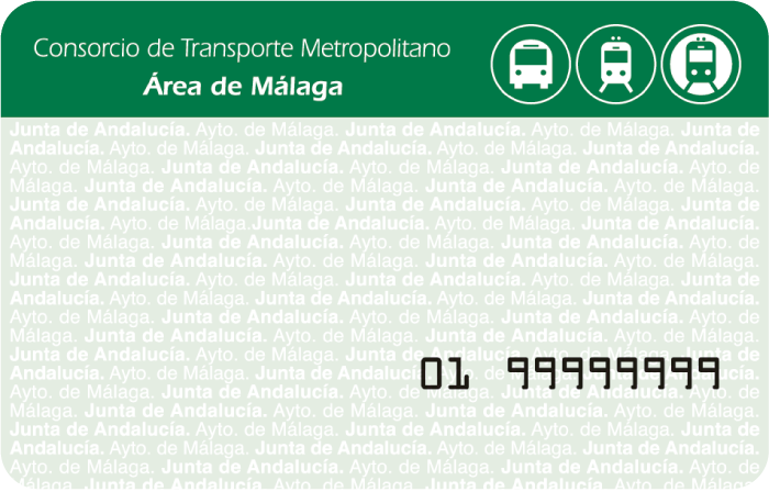 Málaga Transport Consortium Travel Card