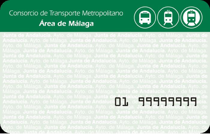 Tarjeta mondero Consorcio Málaga