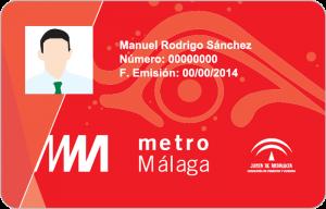 Billete Descuento Progresivo Metro Málaga