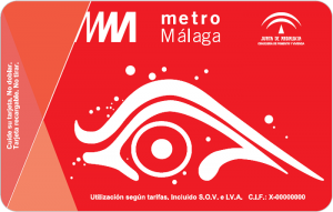 Billete Monedero Metro Málaga