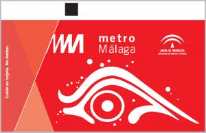 Billete Ocasional Metro Málaga