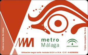 Tarjeta Monedero Metro de Málaga