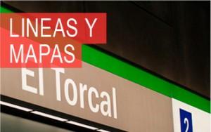 """Rótulo parada de """"El Torcal"""""""