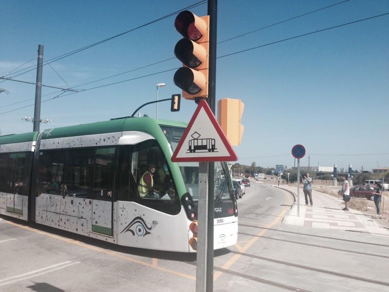 El metro de Málaga inicia la fase de pruebas en blanco, que precede a la puesta en servicio comercial
