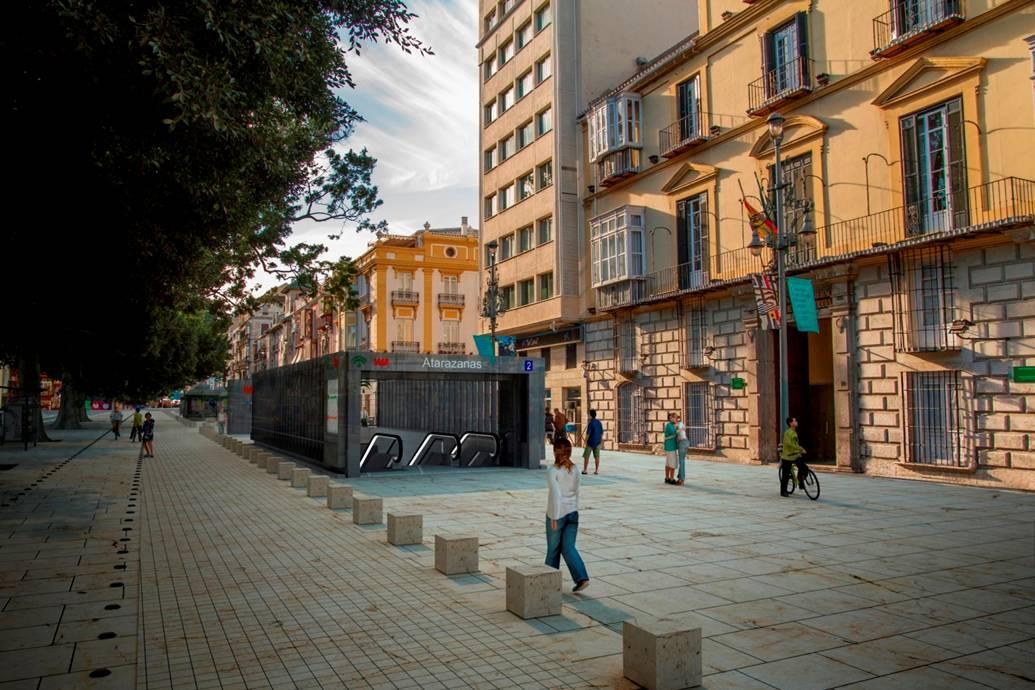 La Junta licita por casi 45 millones de euros la ejecución del tramo del metro de Málaga que llega al centro histórico