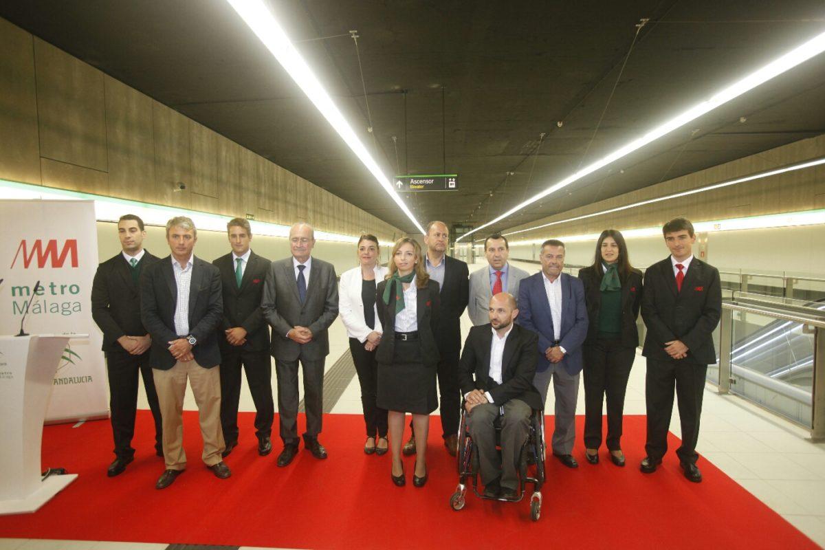 Elena Cortés anuncia que el metro de Málaga empezará a funcionar el 30 de julio