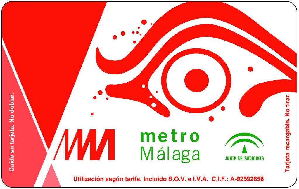 Billete de Metro de Málaga