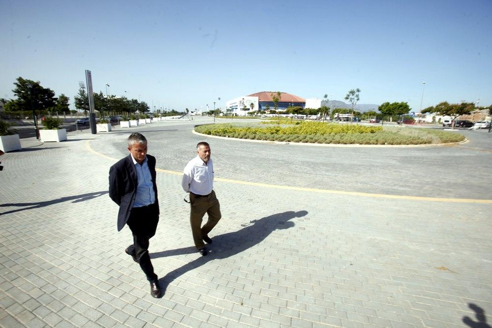 La Junta concluye la nueva urbanización del entorno de la estación Palacio de Deportes de Metro Málaga