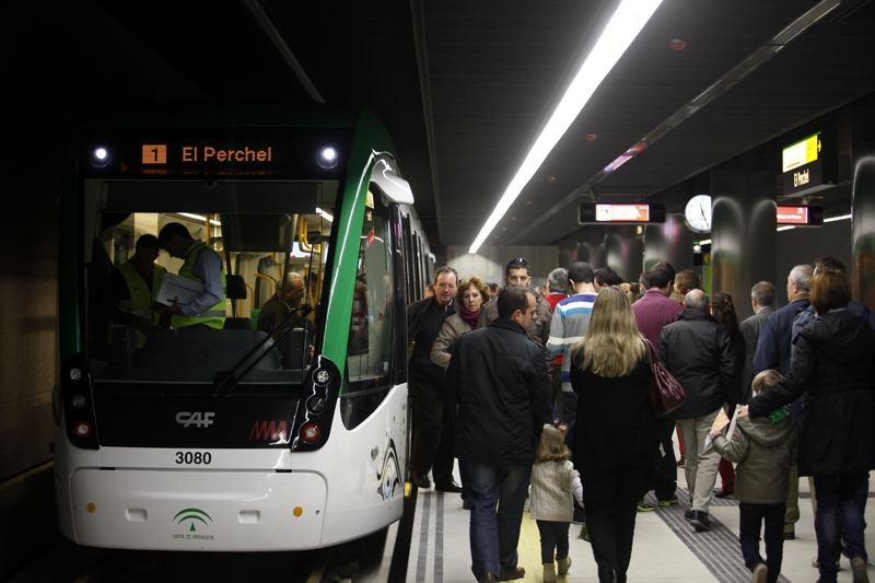 El Consejo autoriza los últimos trámites económicos para poner en marcha el metro de Málaga el 30 de julio