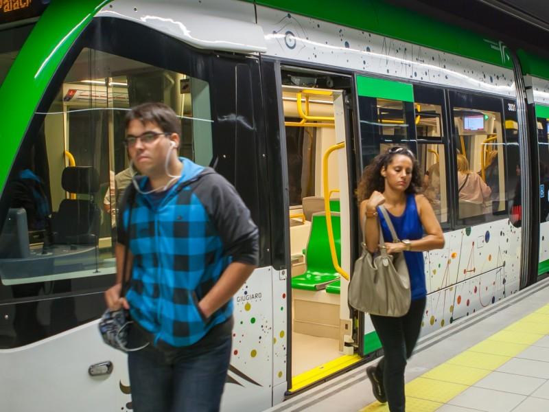 El metro de Málaga supera el millón de usuarios antes de cumplir sus primeros tres meses de funcionamiento
