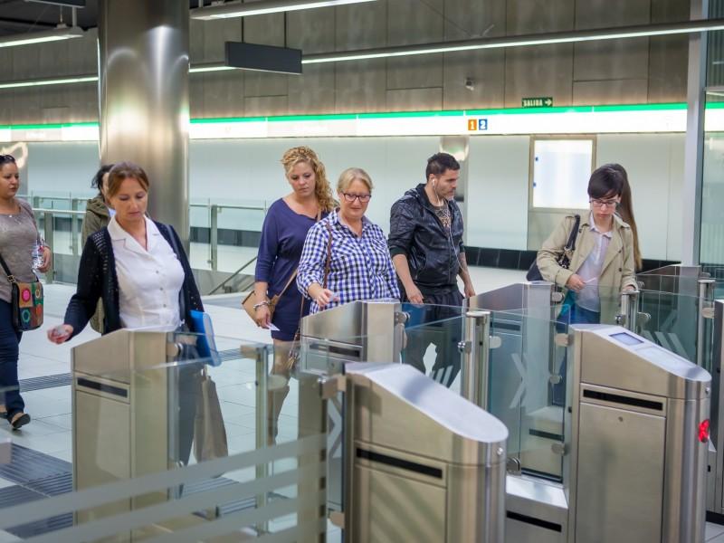 El metro de Málaga alcanza el día de la Cabalgata de Reyes su récord de viajeros desde la inauguración del servicio