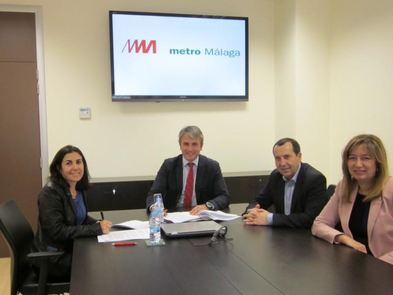 El metro de Málaga tendrá cobertura de telefonía móvil antes del verano