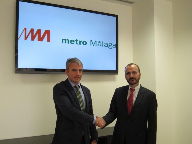 Metro de Málaga y Orange acuerdan dar cobertura de telefonía móvil en túneles y estaciones