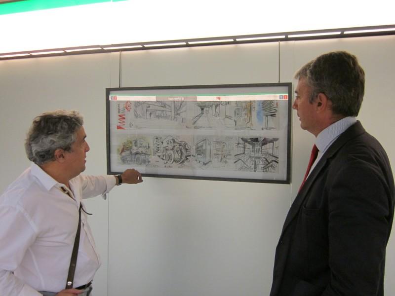 Metro de Málaga inaugura la exposición 'Una realidad, muchas miradas' en la estación El Perchel