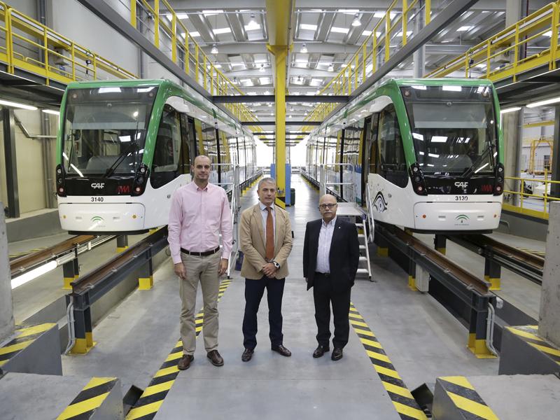 Con el metro de Málaga, más cómodo y rápido a los partidos del UNICAJA