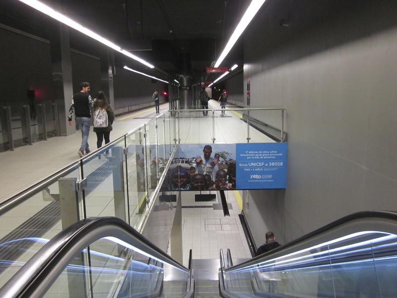 Metro de Málaga apoya la labor de UNICEF contra la desnutrición infantil