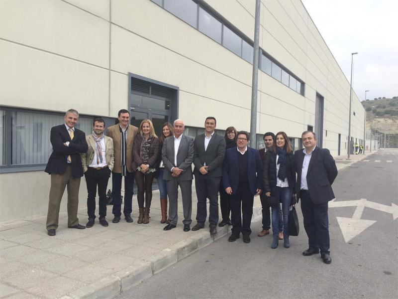 La Comisión parlamentaria de Fomento y Vivienda visita las instalaciones del Metro de Málaga