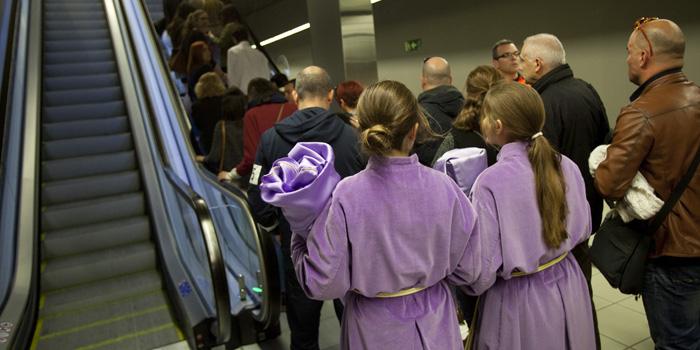 Metro de Málaga amplía su horario en Semana Santa con 24 horas de servicio Miércoles y el Jueves Santo