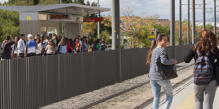 Metro de Málaga incrementa un 6% su volumen de viajeros en el primer trimestre del año