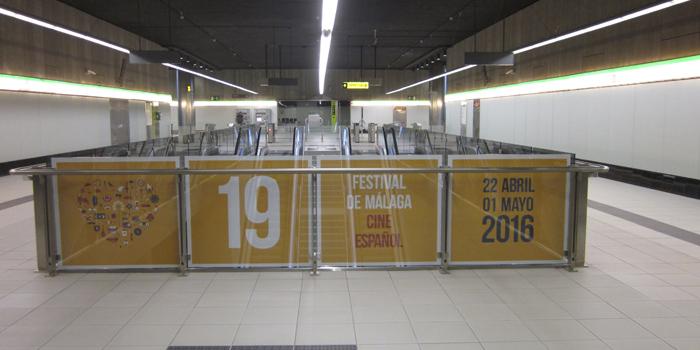 Metro de Málaga se suma al Festival de Cine Español como entidad colaboradora en su decimonovena edición