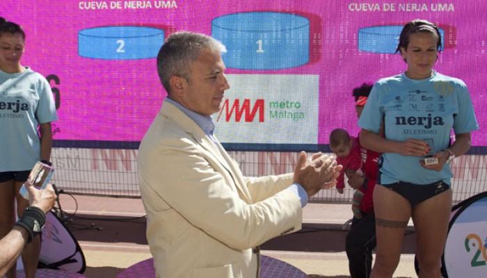 Metro de Málaga, patrocinador oficial de la Media Maratón Ciudad de Málaga