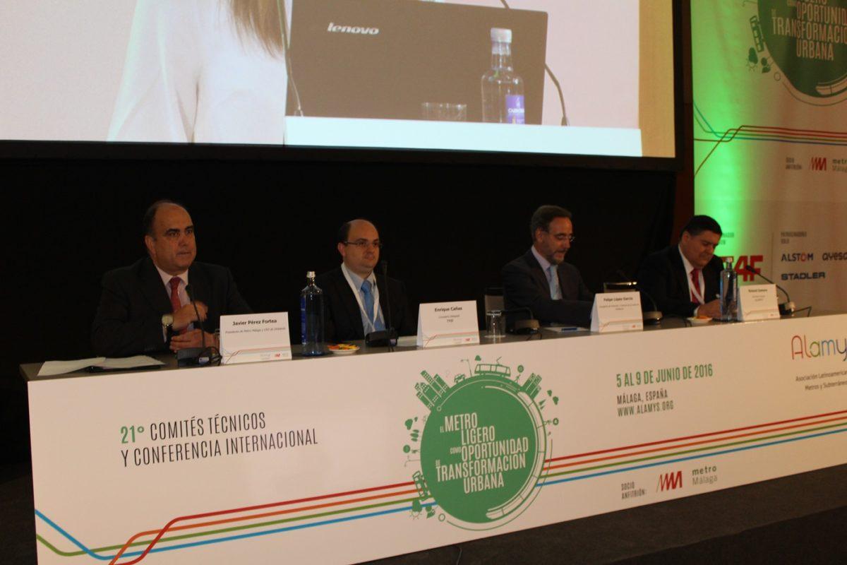 Felipe López resalta la apuesta de la Junta por el desarrollo de metros y tranvías con una inversión de más de 2.000 millones