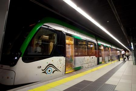 Metro de Málaga cumple su segundo aniversario cubriendo objetivos y la demanda prevista, con 10 millones de viajeros