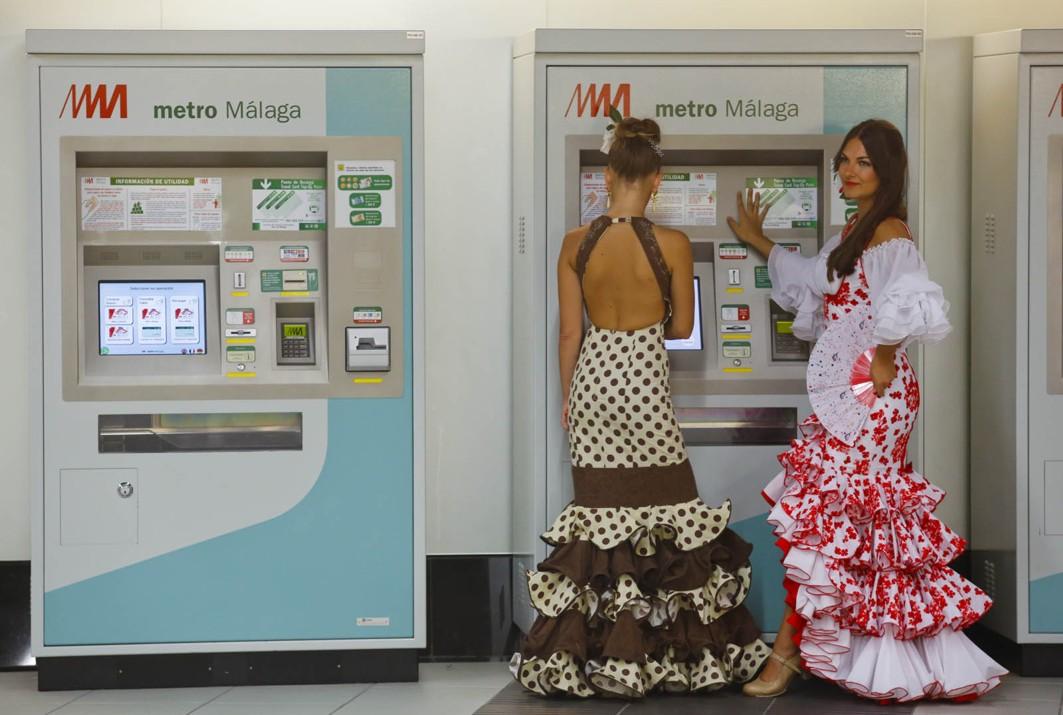 Metro de Málaga transporta un total de 87.101 pasajeros durante la semana de la feria 2016