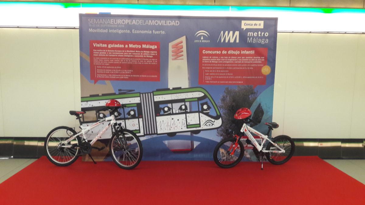 Metro de Málaga celebra la Semana Europea de la Movilidad con visitas populares y un concurso de dibujo infantil