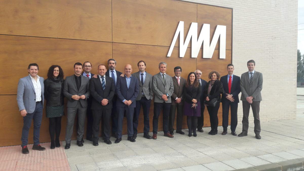 Metro de Málaga acoge la 13ª reunión el Observatorio de Civismo en el Transporte Ferroviario