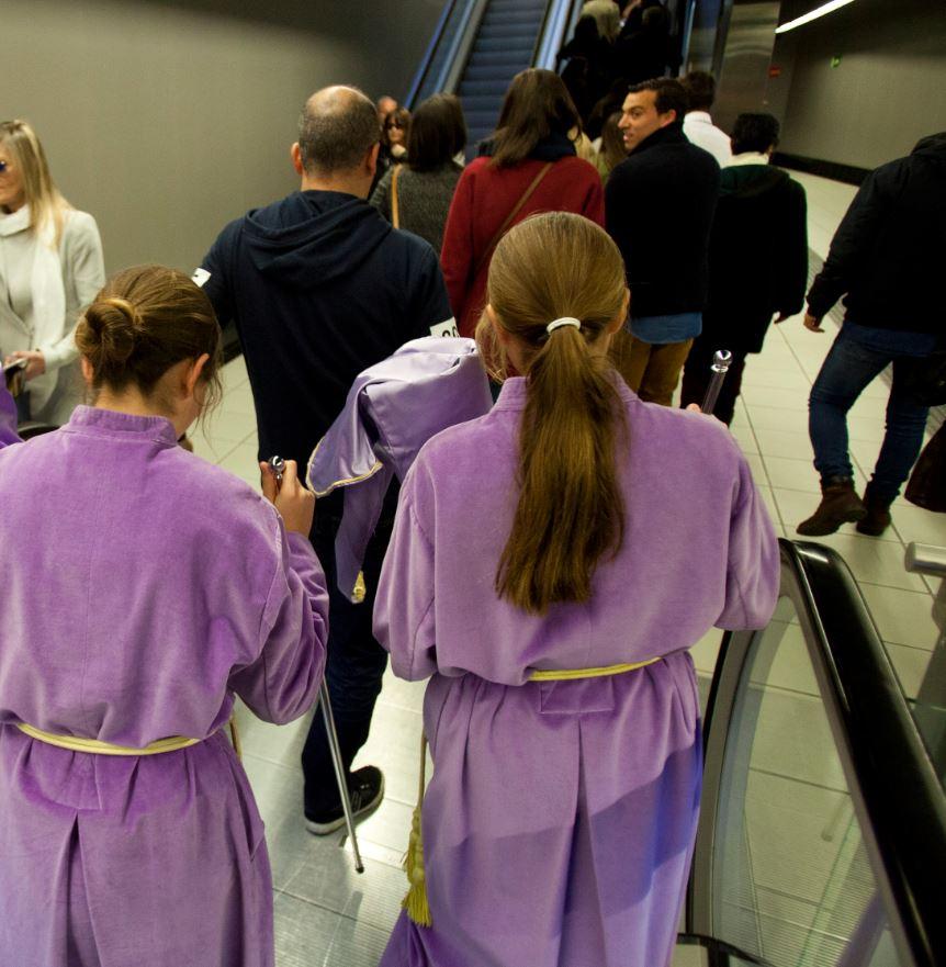 Metro de Málaga transporta a casi 170.000 viajeros durante la Semana Santa, el mejor dato desde su puesta en servicio