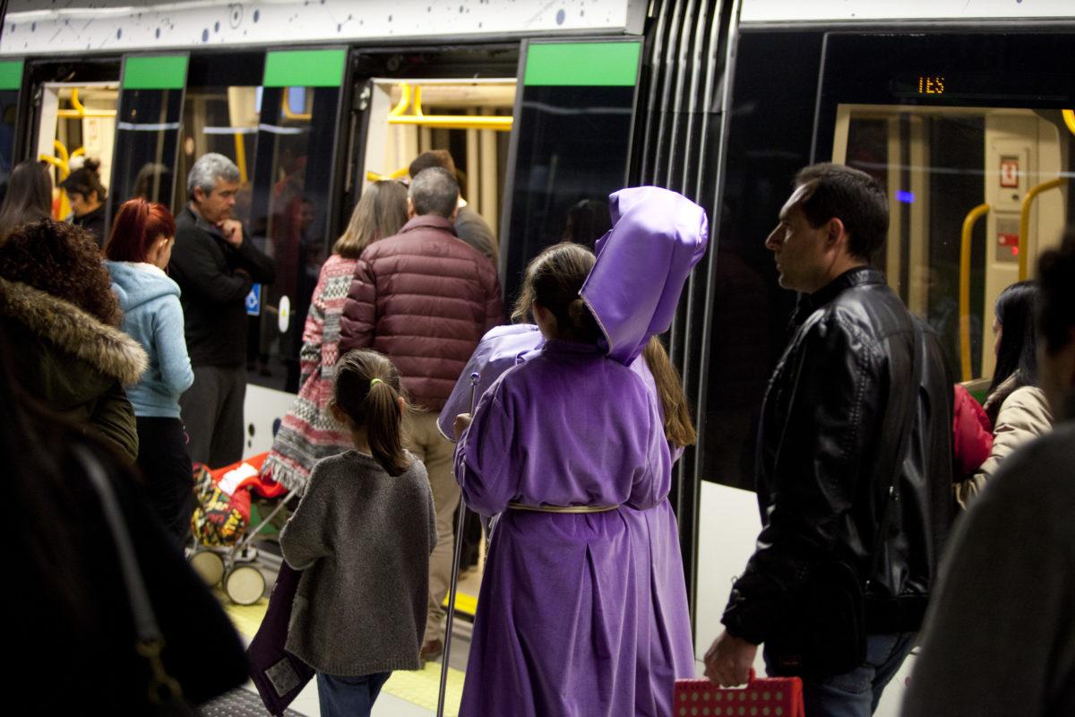 Metro de Málaga ampliará su horario en Semana Santa con un servicio ininterrumpido entre el Miércoles y el Viernes Santo