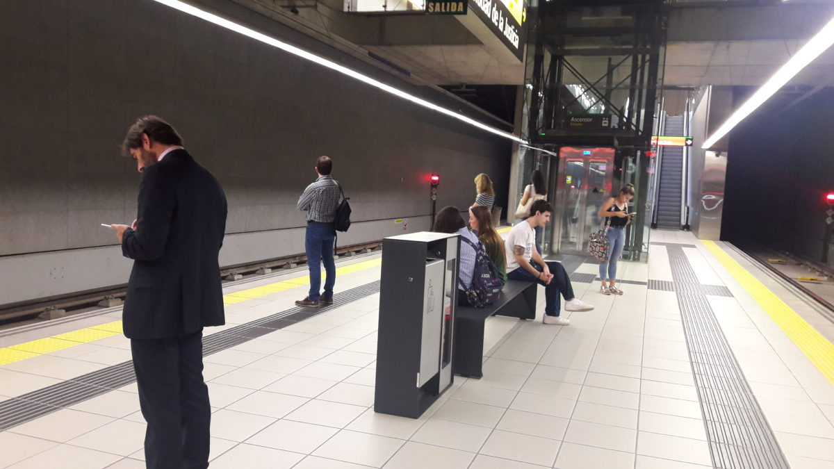Metro de Málaga consolida la valoración global de su servicio y alcanza una calificación cercana al sobresaliente