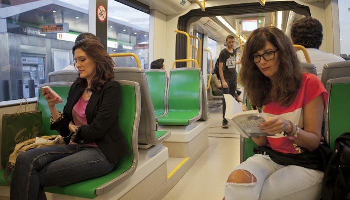 Metro de Málaga aumenta su volumen de viajeros un 9,5% en el primer semestre y roza los 3 millones de usuarios