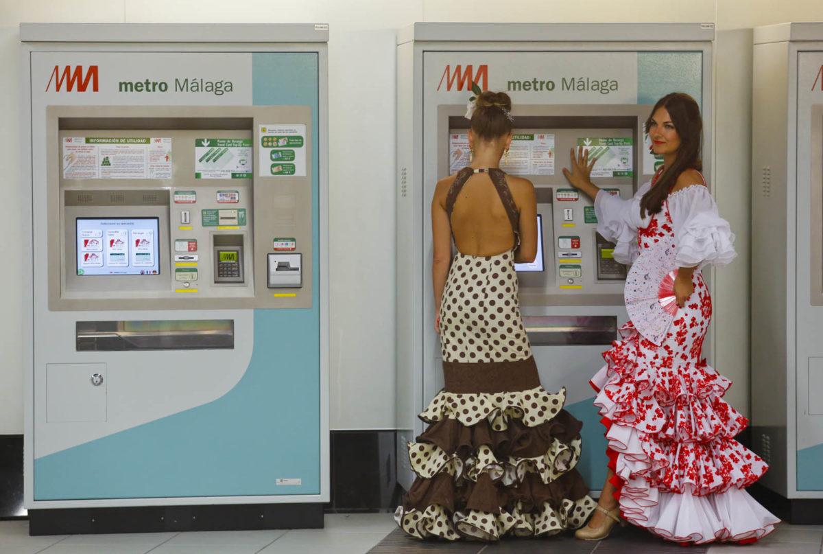 Metro de Málaga transporta un total de 97.864  pasajeros  durante la Feria, un 12% más que el pasado año
