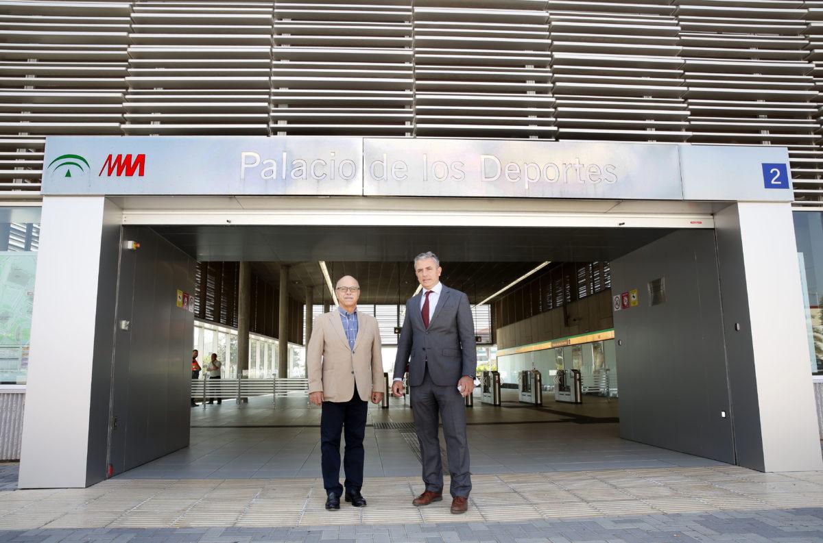 Metro de Málaga y Unicaja Baloncesto renuevan un año más su acuerdo de colaboración