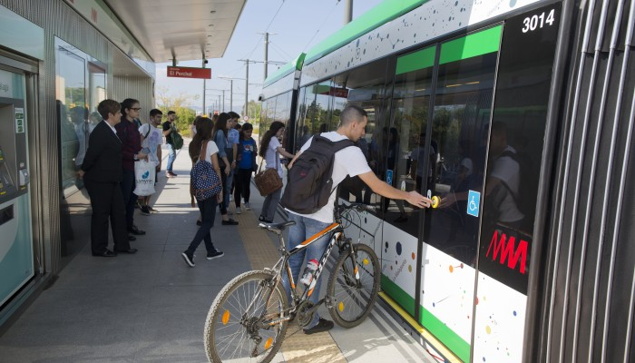 El metro de Málaga bate su récord diario de pasajeros el viernes 24 de noviembre, con más de 30.400 usuarios