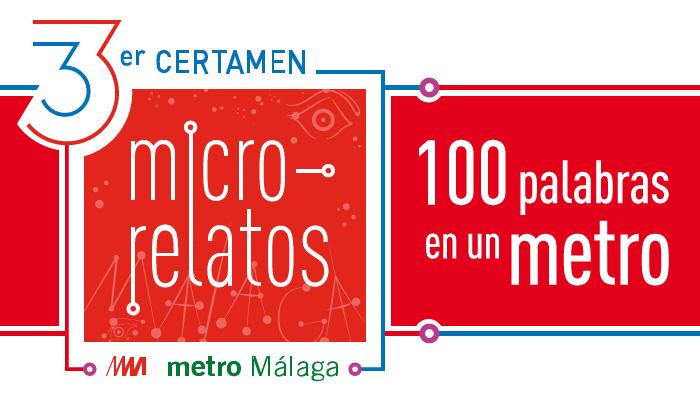 Metro de Málaga presenta la tercera edición del concurso de microrrelatos '100 Palabras en un Metro'